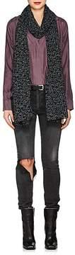 Saint Laurent Women's Je T'Aime Wool Gauze Scarf