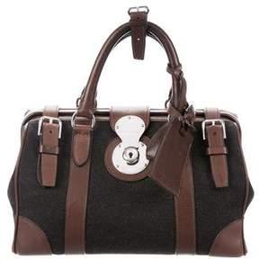 Ralph Lauren Leather-Trimmed Ricky Bag