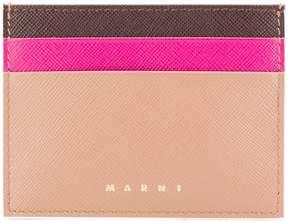 Marni colour blocked card holder