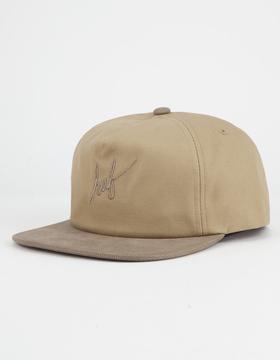 HUF Script Mens Snapback Hat