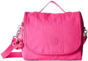 Kipling Kichirou Lunch Bag Cross Body Handbags - SURFER PINK - STYLE