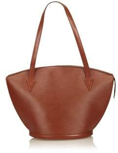Louis Vuitton Pre-owned: Epi Saint Jacques Long Strap. - BROWN - STYLE