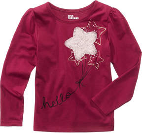 Epic Threads Mix and Match Long-Sleeve Star Applique T-Shirt, Toddler Girls (2T-5T), Created for Macy's
