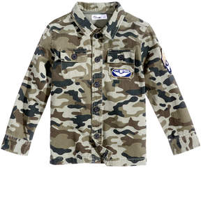 Epic Threads Camo-Print Cotton Jacket, Little Boys (4-7), Created for Macy's