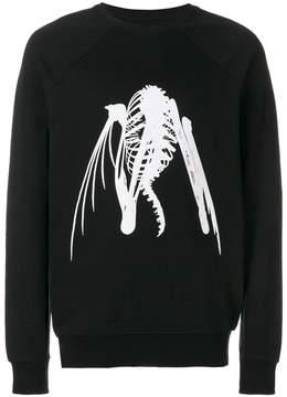 Julius graphic-print sweatshirt