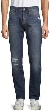 Jean Shop Men's Mick Distressed Cotton Jeans