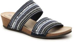 White Mountain Women's Crescent Wedge Sandal