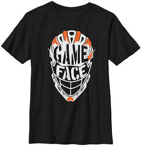 Fifth Sun Black Helmet 'Game Face' Crewneck Tee - Youth