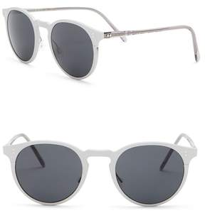 Oliver Peoples Elias 49mm Round Sunglasses