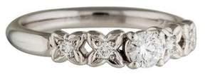 Christian Dior Platinum Diamond Ring