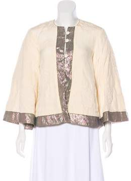 Matthew Williamson Embroidered Long Sleeve Jacket