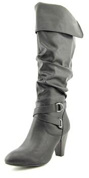 Rampage Ellesandra Round Toe Synthetic Knee High Boot.