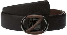 Z Zegna Reversible BSELG1 H35mm Belt Men's Belts