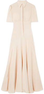 DAY Birger et Mikkelsen Hillier Bartley - Plimpton Silk-crepe Midi Dress - Cream