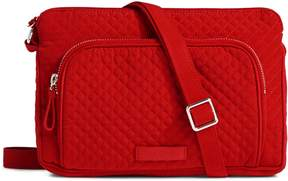 Vera Bradley Iconic RFID Little Hipster - VERA VERA CARDINAL RED - STYLE