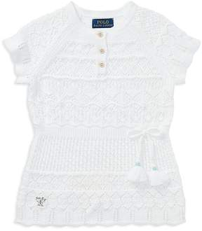 Polo Ralph Lauren Girls' Crochet Tunic - Little Kid