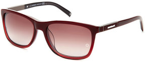 Montblanc MB461T Burgundy Wayfarer Sunglasses