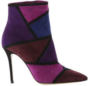 Roberto Festa Women's Maelle Patchwork Stiletto Ankle Boot