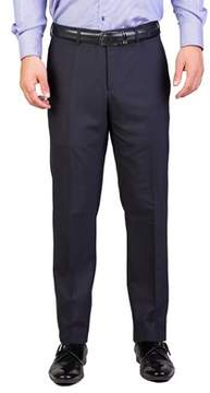 Christian Dior Men's Wool Slim Fit Dress Trousers Pants Navy Blue.
