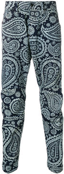G Star paisley print trousers
