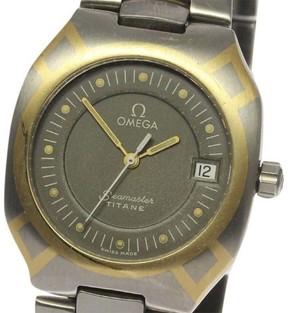 Omega Seamaster Polaris Titanium Quartz 31mm Mens Watch