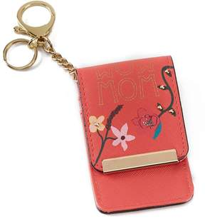 Kate Landry Wow Mom Card Case Key Chain