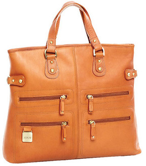 Women's CLAVA Zip Pocket Tote/Shoulderbag