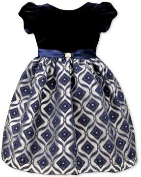 Jayne Copeland Velvet Organza Gown, Little Girls (4-6X)