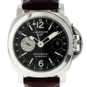 Panerai Luminor GMT Automatic Chronometer Brown Dial Men's Watch