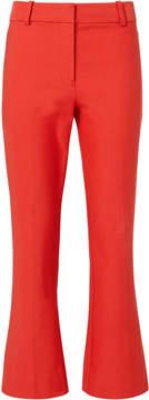 Derek Lam 10 Crosby Red Crop Flare Pants