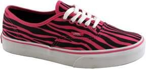 Vans Women's Authentic Zebra Glitter Skateboarding Shoes