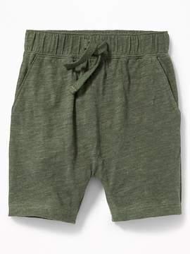 Old Navy Slub-Knit Pull-On Shorts for Toddler Boys
