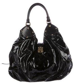 Louis Vuitton Surya L Hobo Bag - BLACK - STYLE