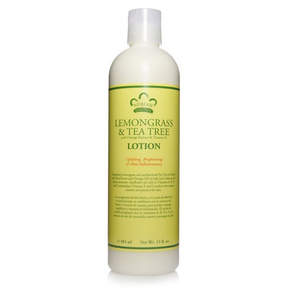 Nubian Heritage Lemongrass + Tea Tree Lotion by 13oz Lotion)