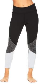 Gaiam Women's Mix Capri Leggings