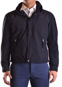 Aspesi Men's Blue Polyester Outerwear Jacket.