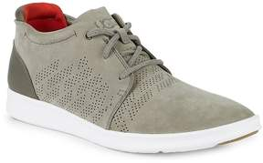 UGG Men's Larken Stripe Perforated Leather Sneakers