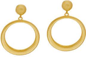Elizabeth Taylor The Front Facing Hoop Earrings
