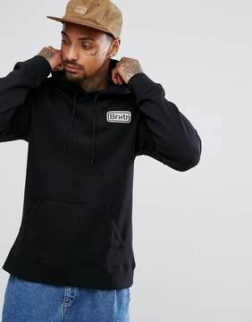 Brixton Springfield Hoodie With Small Logo