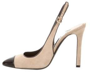 Tom Ford Slingback Cap-Toe Pumps
