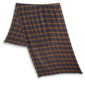 Loro Piana Plaid Long Scarf