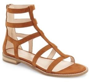 Pelle Moda Women's 'Helen' Flat Gladiator Sandal