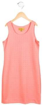 Nicole Miller Girls' Textured Sleeveless Dress w/ Tags