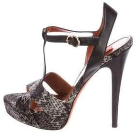 Missoni Patterned Platform Sandals
