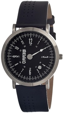 Breed Kimble One-hand Leather-band Watch.