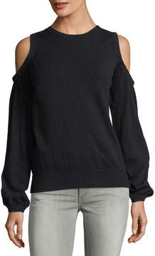 Collective Concepts Long-Sleeve Cold-Shoulder Sweater