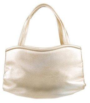 Manolo Blahnik Metallic Mini Bag