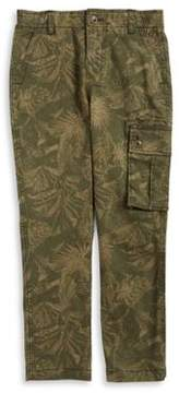 Lucky Brand Boy's Camouflage Cargo Pants