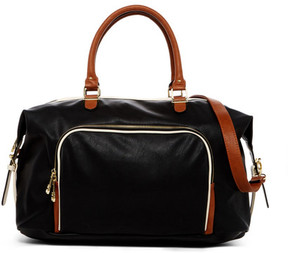Madden Girl Glamm Large Two Tone Weekend Bag