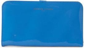 adrienne vittadini Blue Portfolio Wallet
